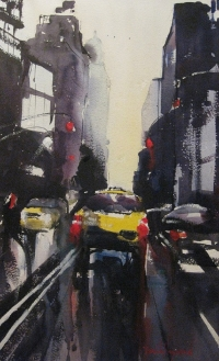 David Heywood Yellow Cab  New  York