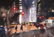 David Heywood New York Nocturne