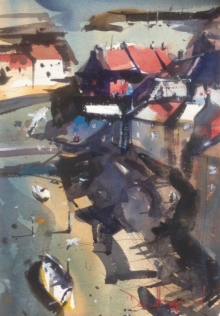 David Heywood Staithes - From Above