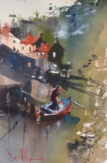 David Heywood Staithes - Sea Level